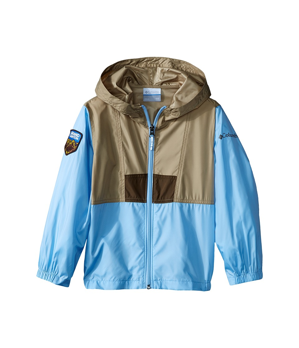 Columbia Kids - Flashback Windbreaker National Park (Little Kids/Big Kids) (Grand Canyon/British Tan/Air) Girl's Clothing