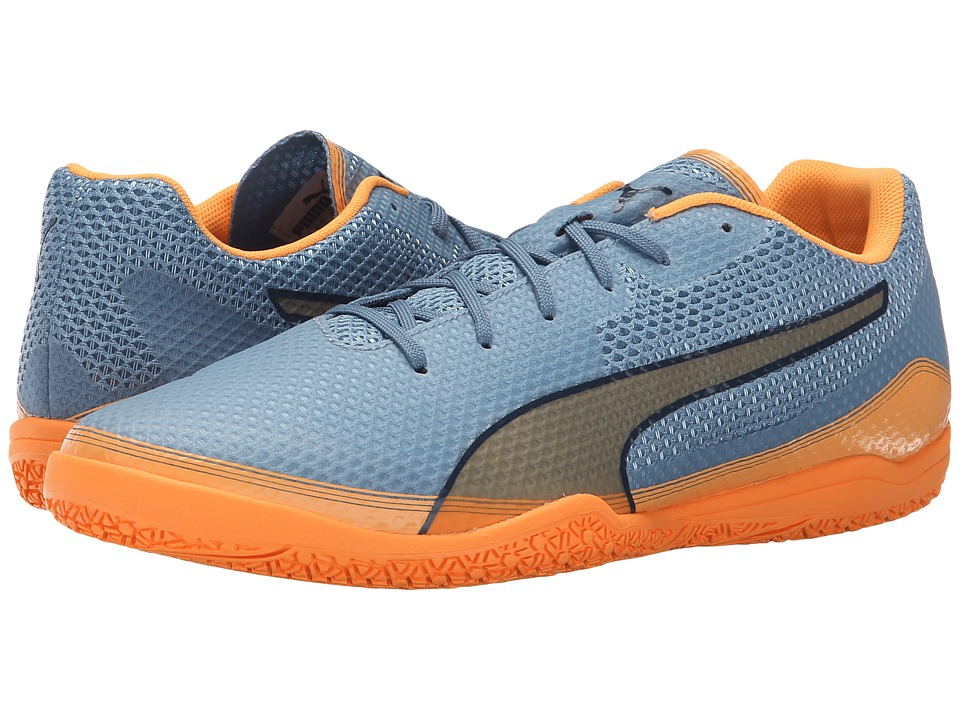 PUMA - Invicto Fresh (Blue Heaven/Orange Pop/Blue Wing Teal) Men's Shoes
