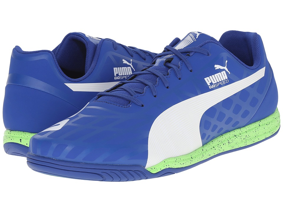 PUMA - evoSPEED Star IV (Surf The Web/White/Green Gecko) Men