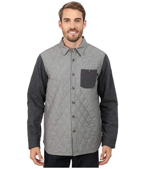 Oakley - Dual Woven (Heather Grey) Men's Clothing