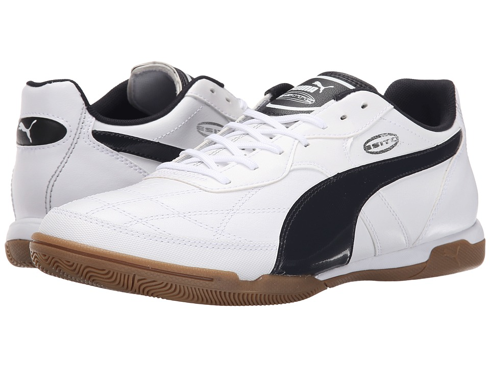 PUMA - Esito Classico IT (White/New Navy) Men