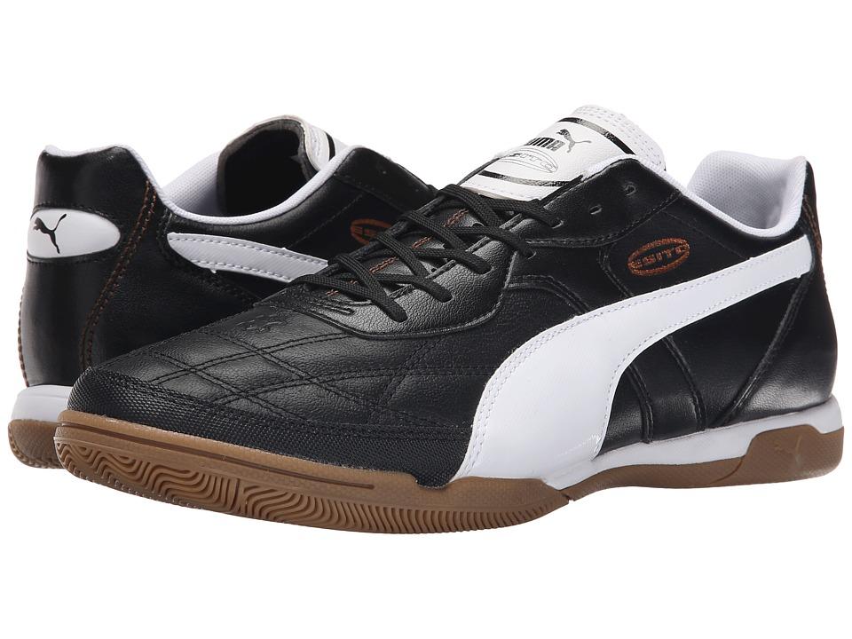 PUMA - Esito Classico IT (Black/White/Bronze) Men's Shoes