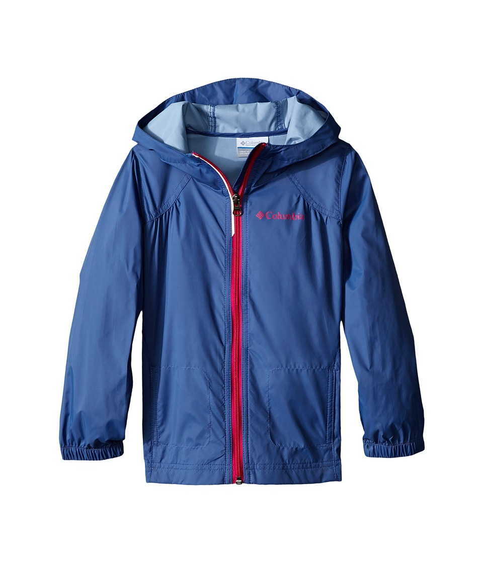 Columbia Kids Switchback Rain Jacket (Little Kids/Big Kids) (Bluebell) Girl