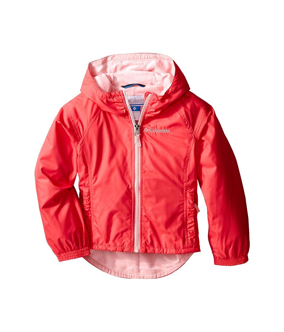 Columbia Kids - Ethan Pond Jacket (Little Kids/Big Kids) (Bright Geranium) Girl's Coat