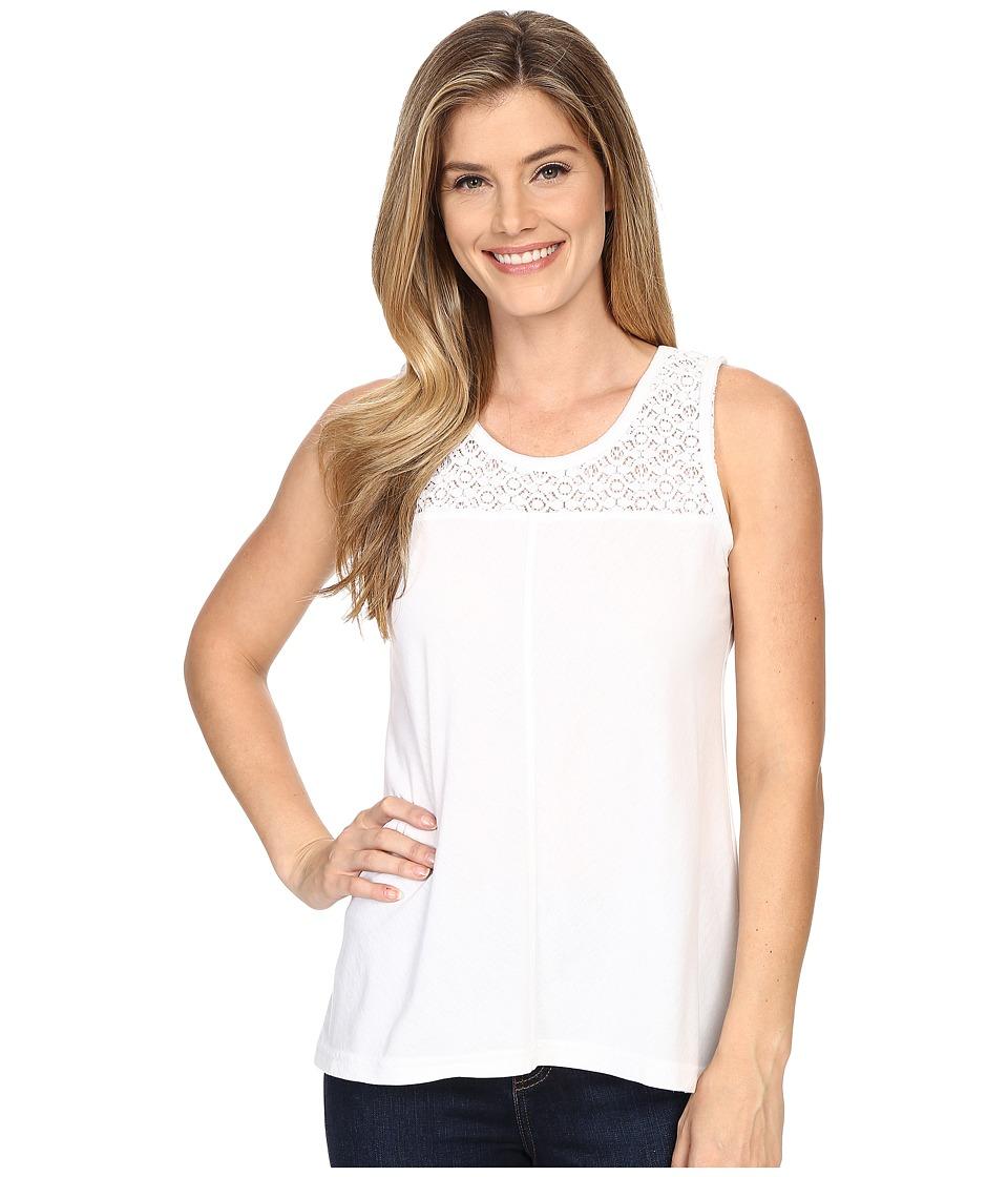 Prana - Cassi Tank Top (White) Women's Sleeveless