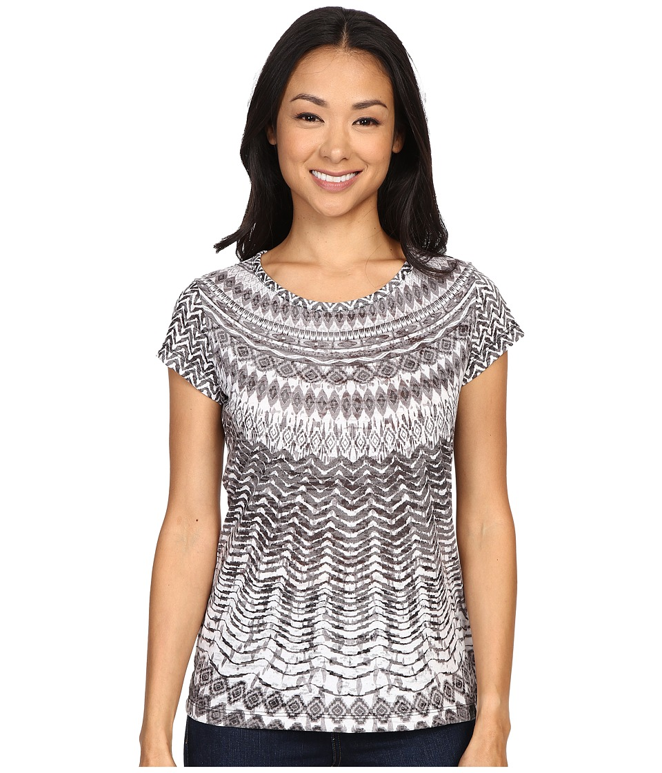 Prana - Sol Tee (Black) Women's Short Sleeve Pullover