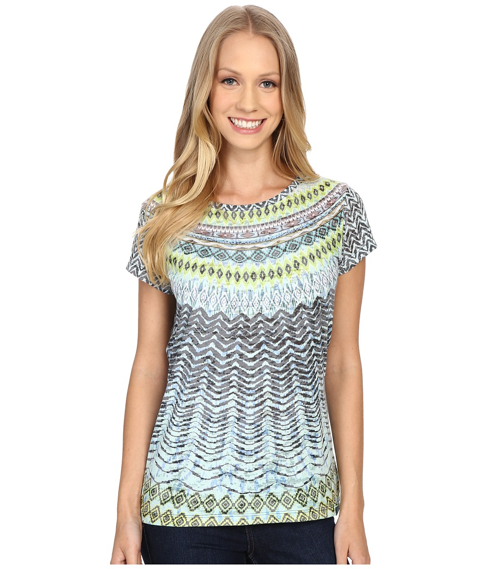 Prana - Sol Tee (Sour Apple) Women's Short Sleeve Pullover