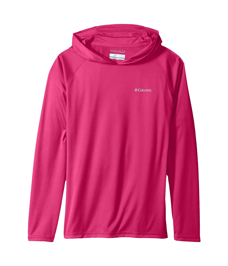 Columbia Kids - Terminal Tackle Hoodie (Little Kids/Big Kids) (Haute Pink) Girl's Sweatshirt