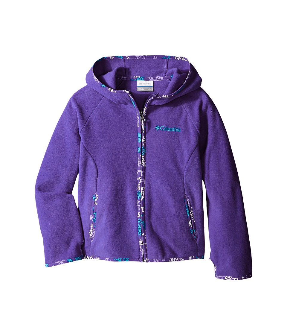 Columbia Kids - Fast Trek Hoodie (Little Kids/Big Kids) (Light Grape) Girl's Sweatshirt