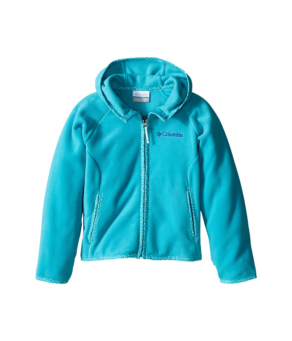 Columbia Kids - Fast Trek Hoodie (Little Kids/Big Kids) (Miami) Girl's Sweatshirt