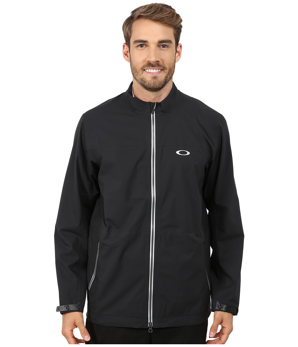 Oakley - Tour Rain Jacket (Jet Black) Men's Coat