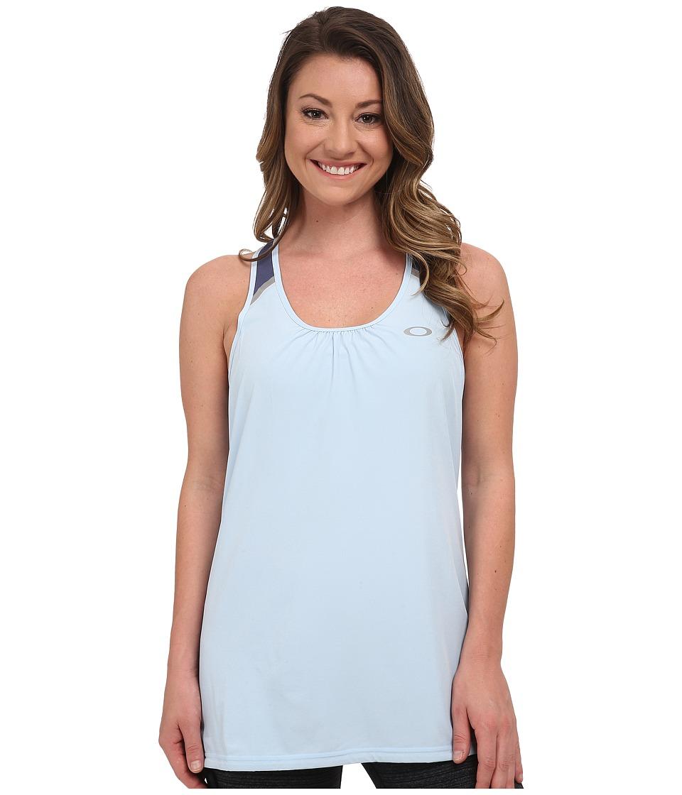 Oakley - Helix Tank Top (Mist Blue) Women's Sleeveless