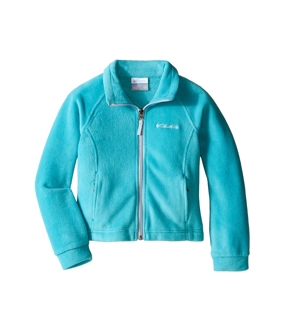Columbia Kids - Benton Springstm Fleece (Little Kids/Big Kids) (Miami/Cirrus Grey) Girl's Fleece