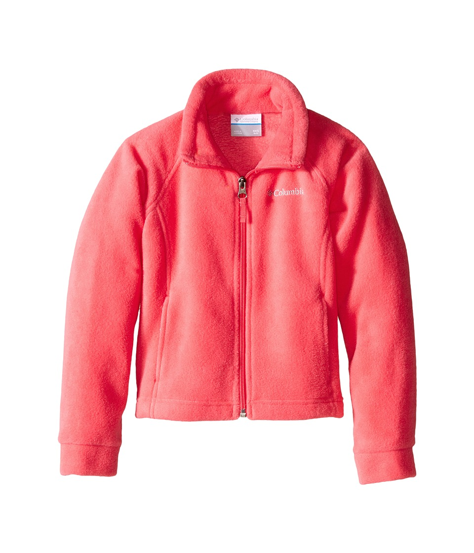 Columbia Kids - Benton Springs Fleece (Little Kids/Big Kids) (Geranium Pink) Girl's Fleece