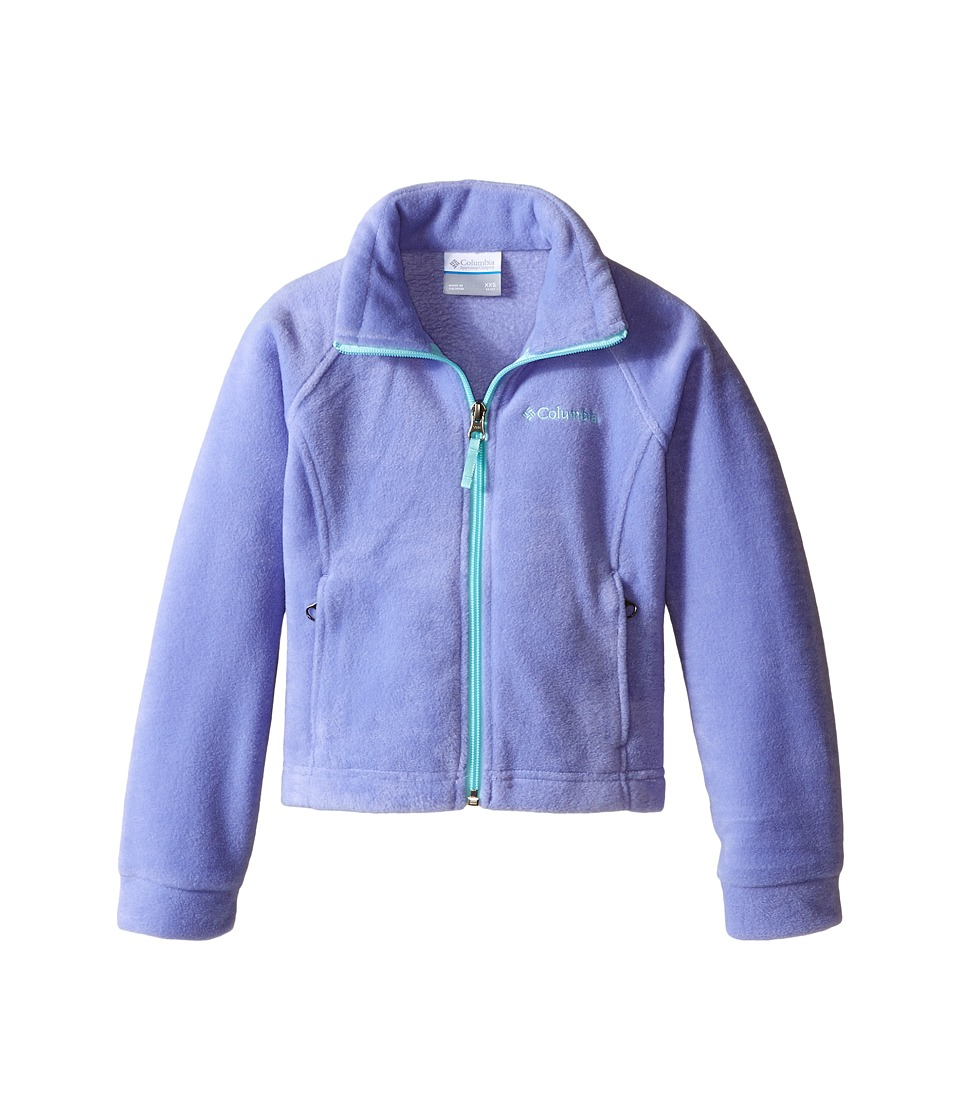 Columbia Kids - Benton Springs Fleece (Little Kids/Big Kids) (Pale Purple/Ocean Water) Girl's Fleece