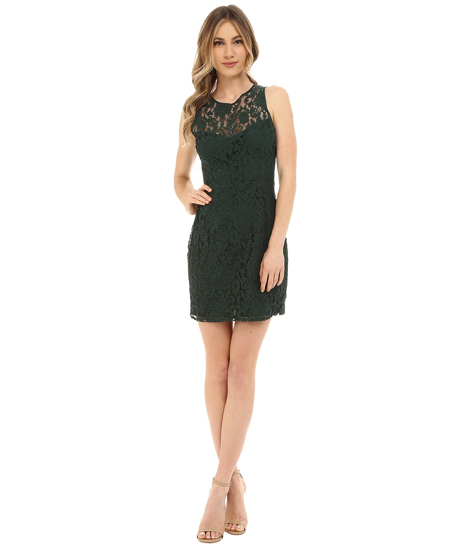 BB Dakota - Gabby Lace Dress (Hunter) Women's Dress