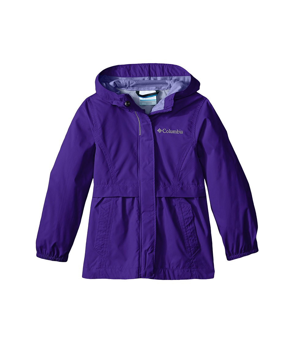 Columbia Kids - Pardon My Trench Rain Jacket (Little Kids/Big Kids) (Light Grape) Girl's Coat