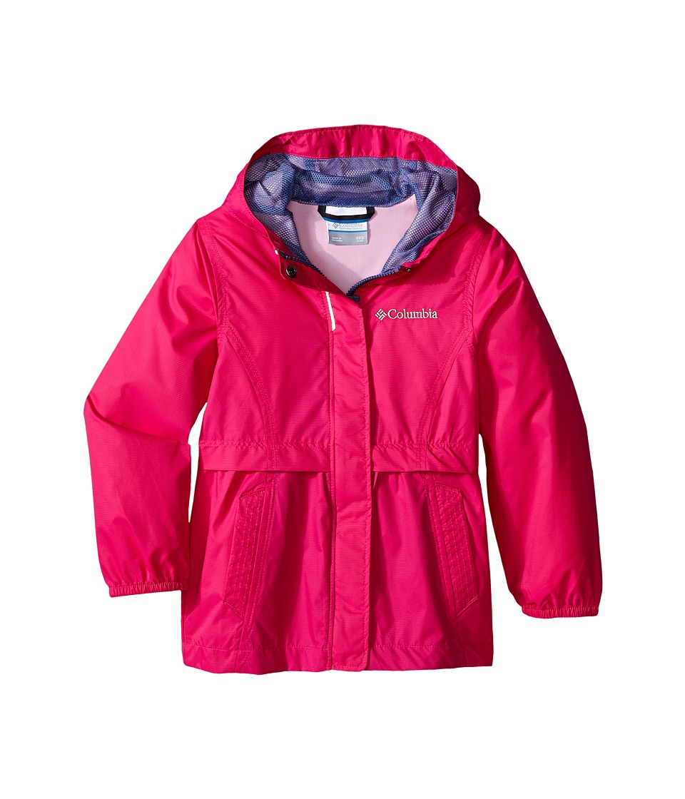 Columbia Kids - Pardon My Trench Rain Jacket (Little Kids/Big Kids) (Haute Pink) Girl's Coat
