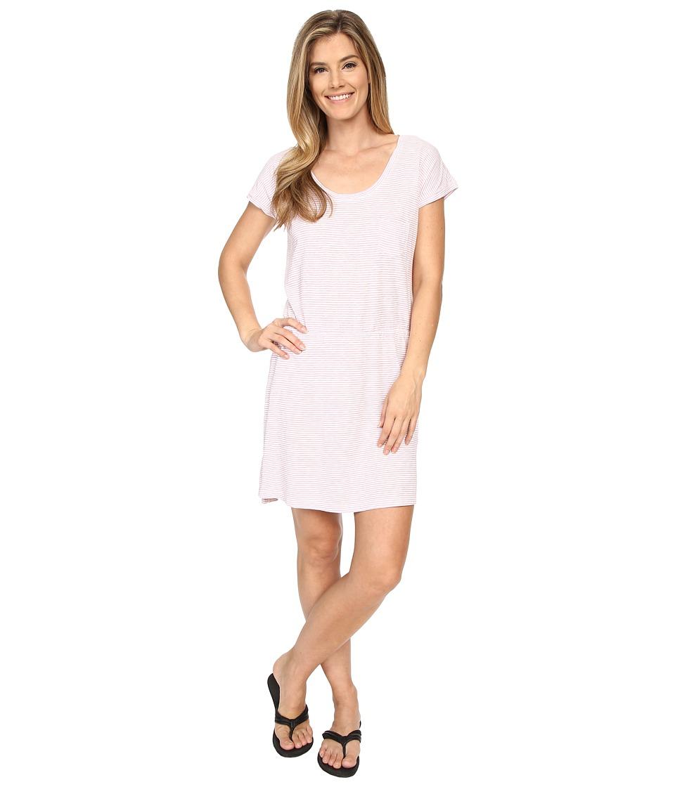 Carve Designs - Bennett T-Shirt Dress (Carribean Stripe) Women's Dress