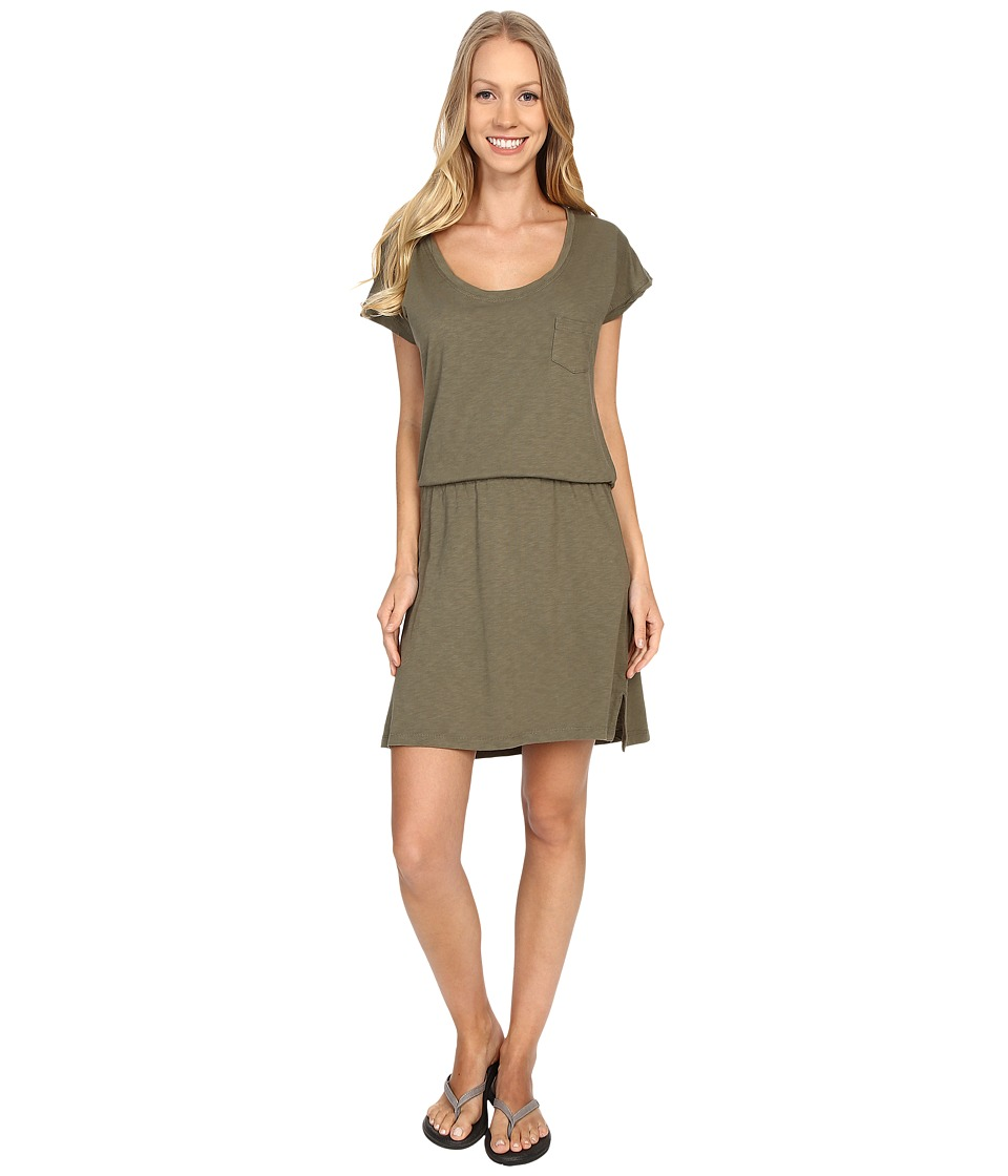 Carve Designs - Bennett T-Shirt Dress (Fatigue) Women's Dress
