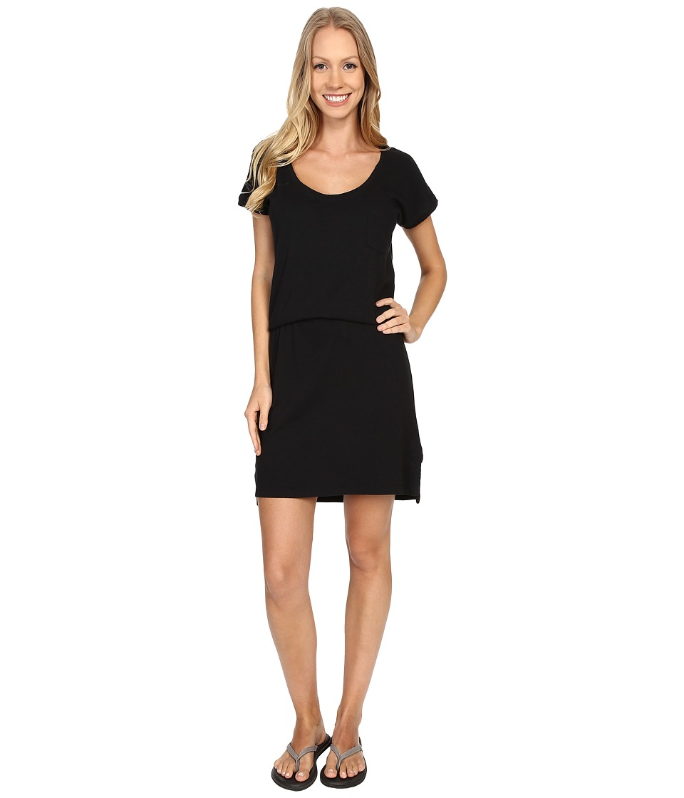 Carve Designs - Bennett T-Shirt Dress (Black) Women's Dress