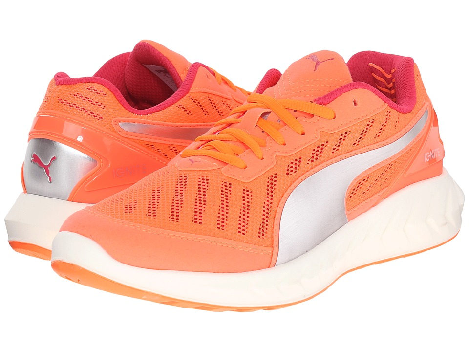 PUMA - Ignite Ultimate (Fluo Peach/Rose Red) Women's Running Shoes