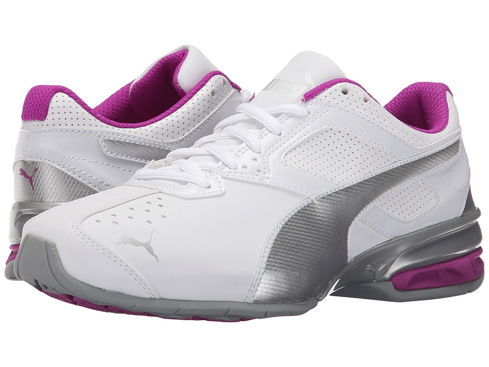 PUMA - Tazon 6 (White/Puma Silver/Purple Cactus Flower) Women's Shoes