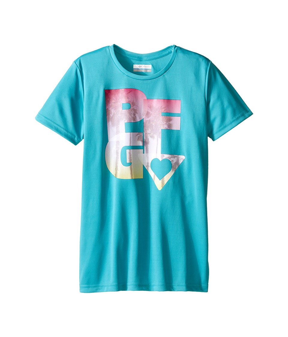 Columbia Kids PFG Haze Graphic Tee (Little Kids/Big Kids) (Miami) Girl