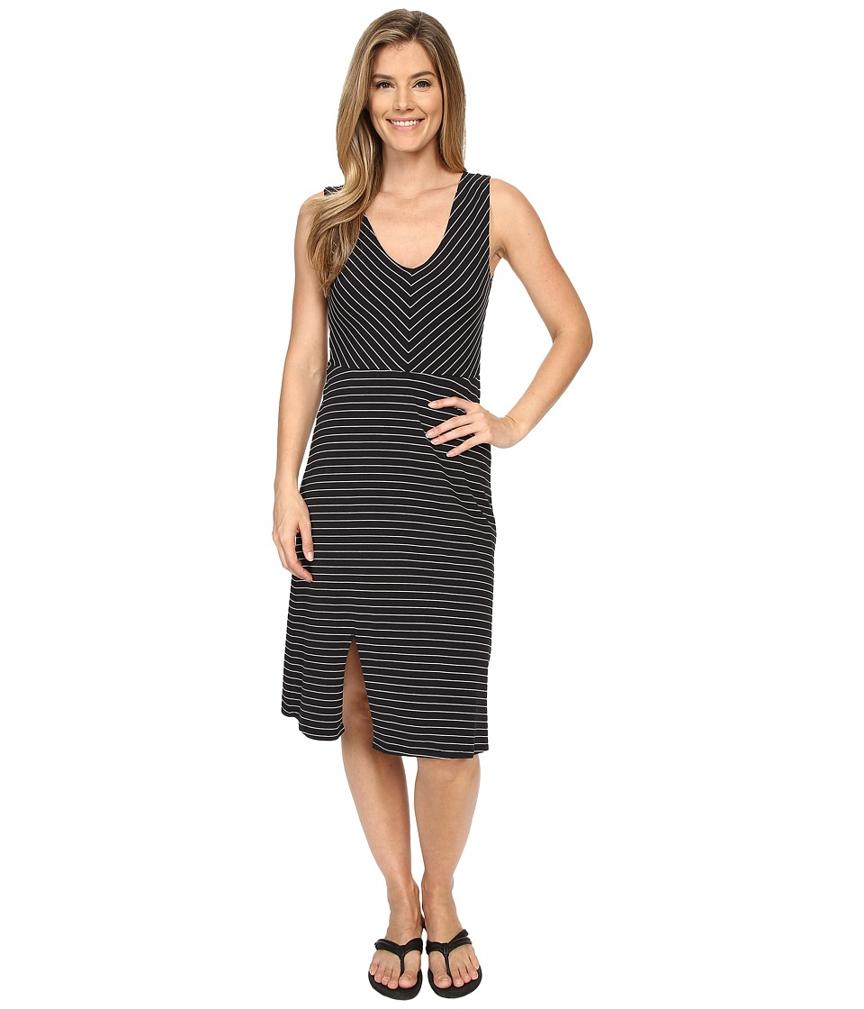 Carve Designs Montauk Dress (Black Stripe) Women