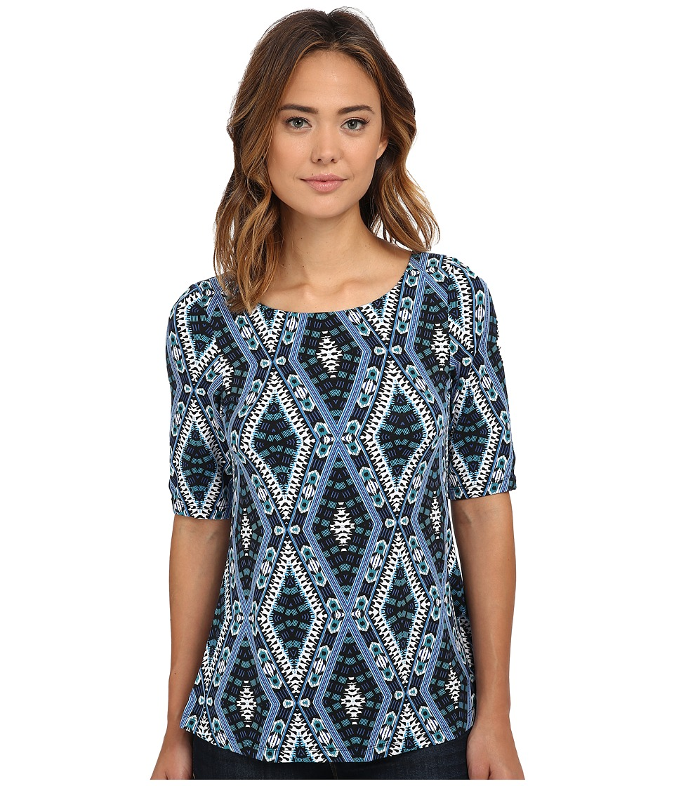 Tart - Minka Top (Ikat Diamonds) Women's Clothing