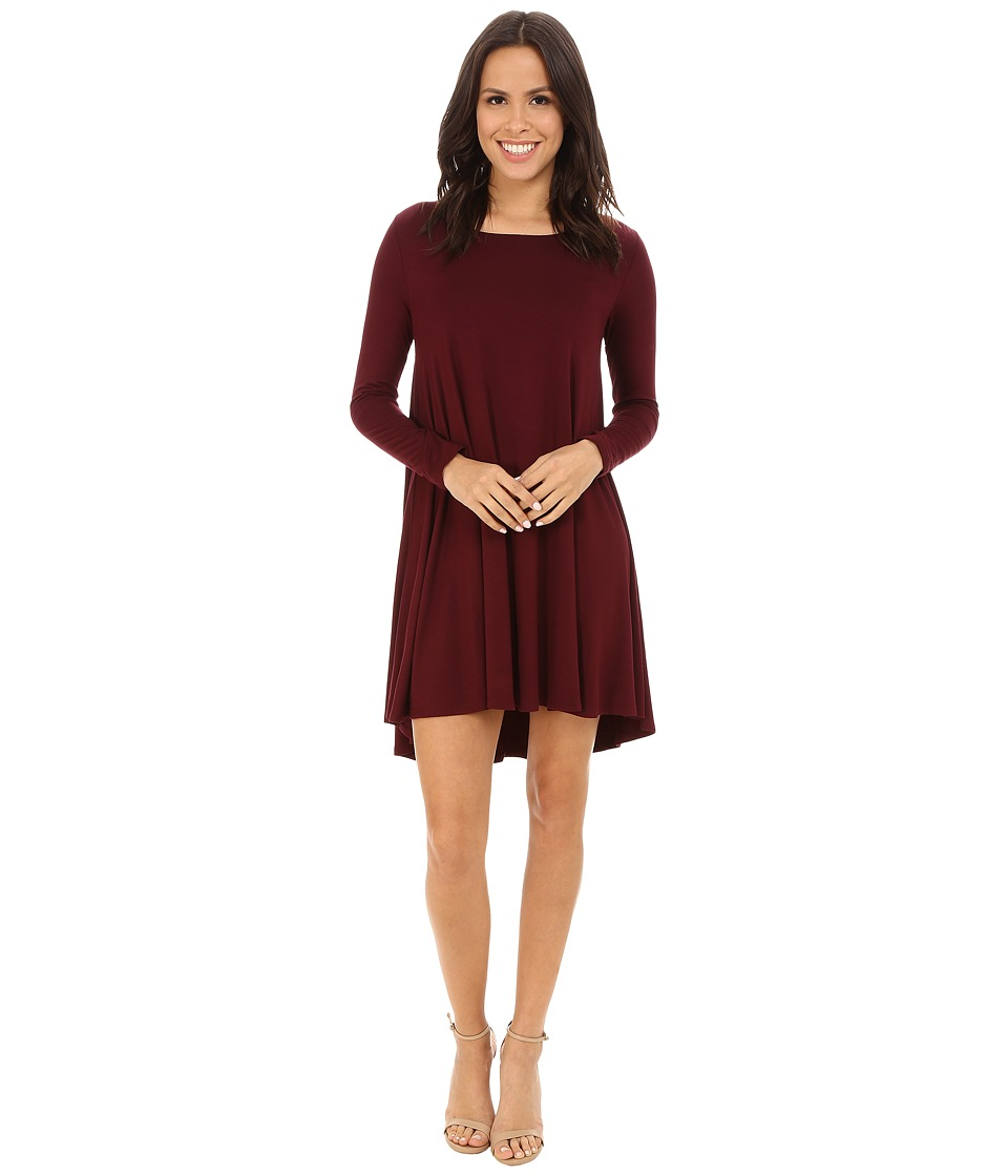 Karen Kane - Swing Dress (Wine) Women's Dress