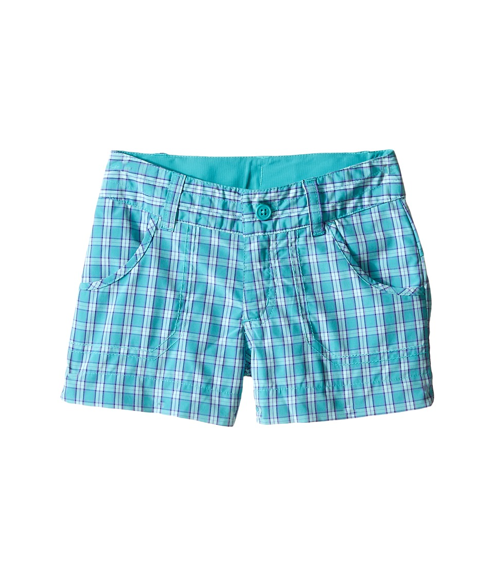 Columbia Kids - Silver Ridge Plaid Shorts (Little Kids/Big Kids) (Miami Plaid) Girl's Shorts