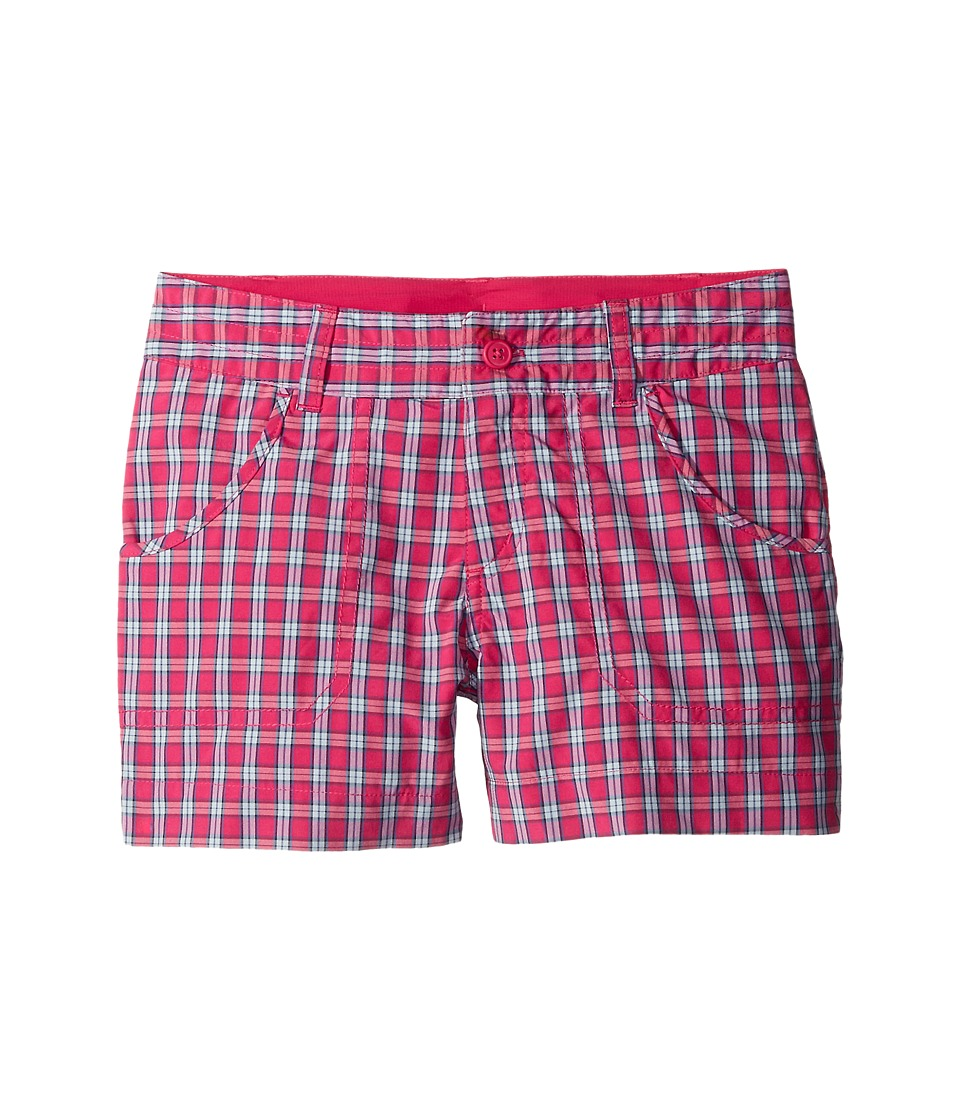 Columbia Kids - Silver Ridge Plaid Shorts (Little Kids/Big Kids) (Haute Pink Plaid) Girl's Shorts