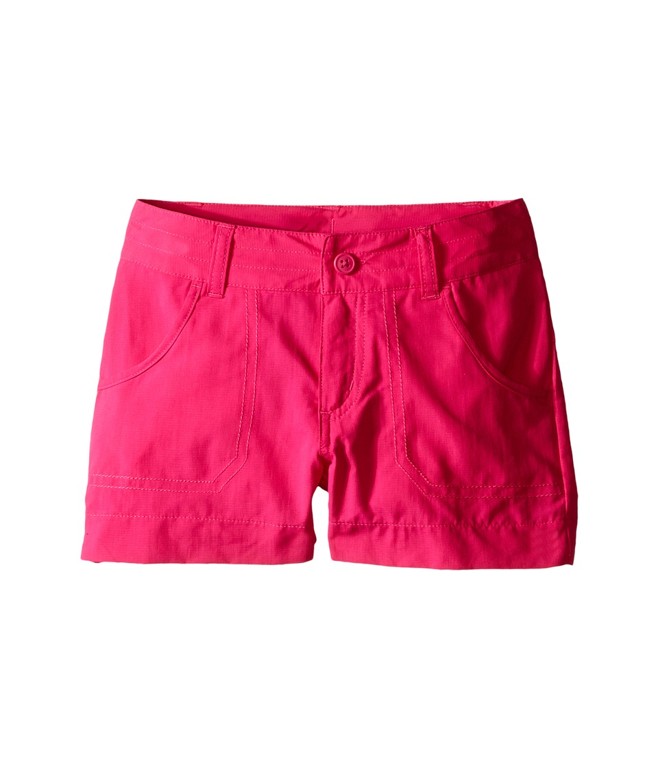 Columbia Kids - Silver Ridge III Short (Little Kids/Big Kids) (Haute Pink) Girl's Shorts