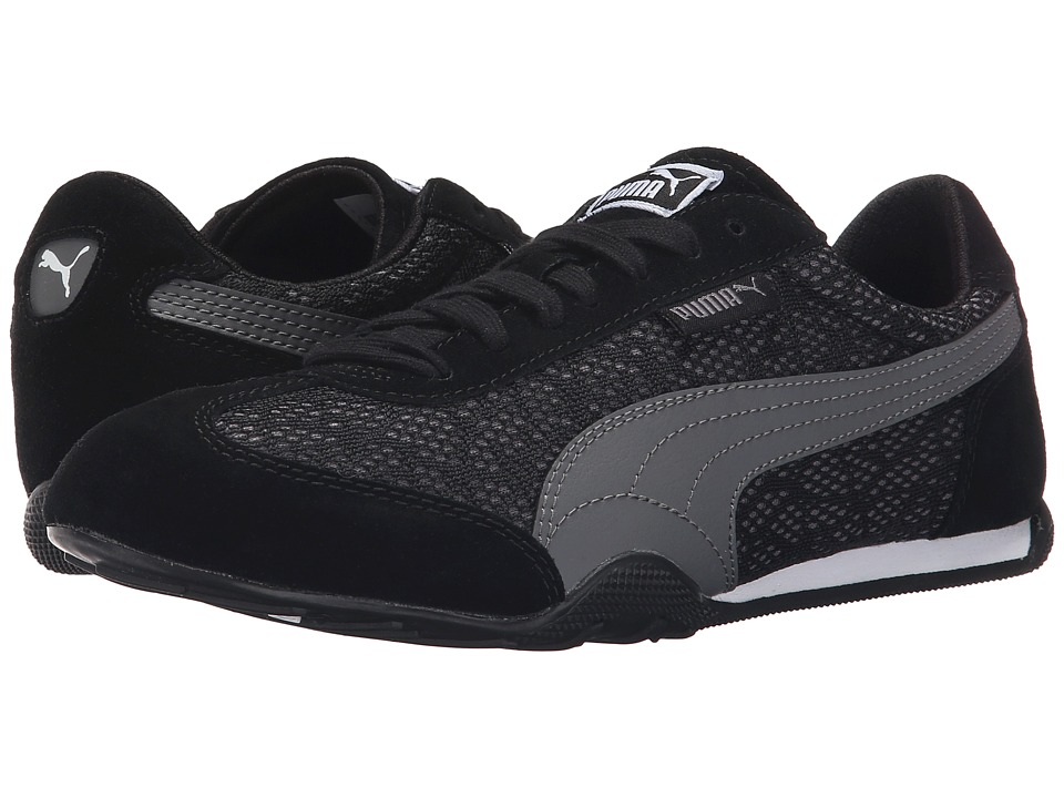 PUMA - 76 Runner Animal (Black/Steel Gray) Women's Shoes
