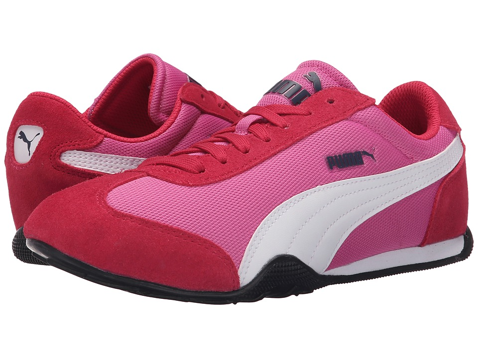 PUMA - 76 Runner Fun Mesh (Phlox Pink/White) Women's Shoes