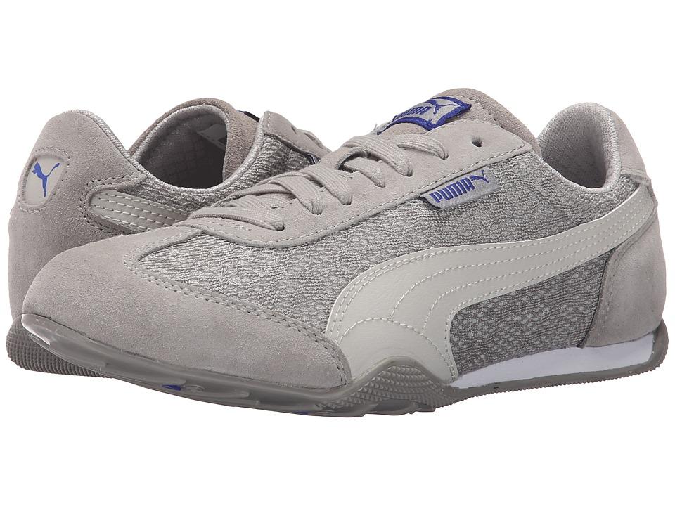 PUMA - 76 Runner Animal (Drizzle/Glacier Gray/Dazzling Blue) Women's Shoes