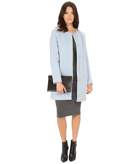 BB Dakota - Vianne Brushed Wool Blend Coat (Cyanide) Women's Coat