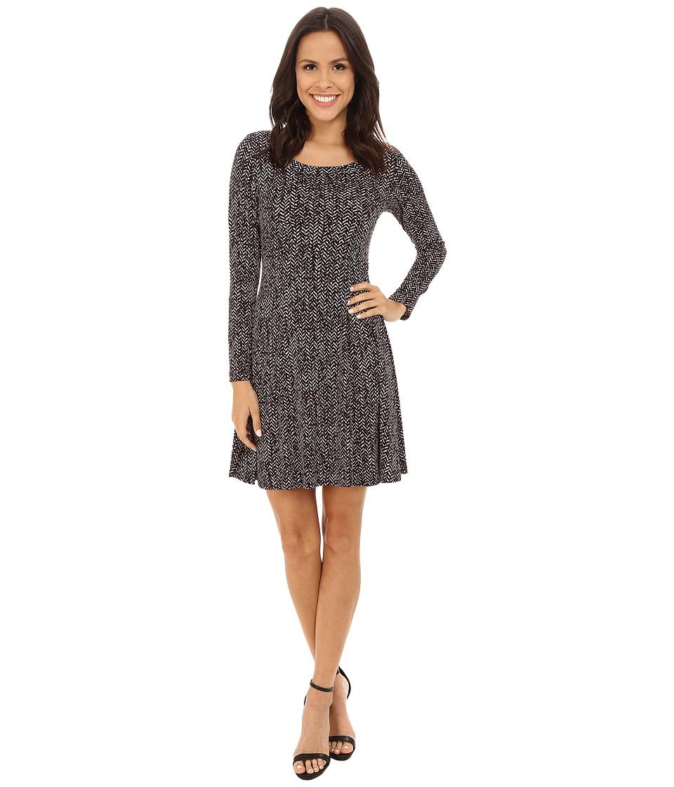 Karen Kane - Chevron Print Dress (Print) Women's Dress