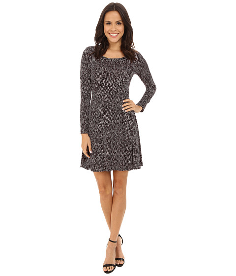Karen Kane - Chevron Print Dress (Print) Women