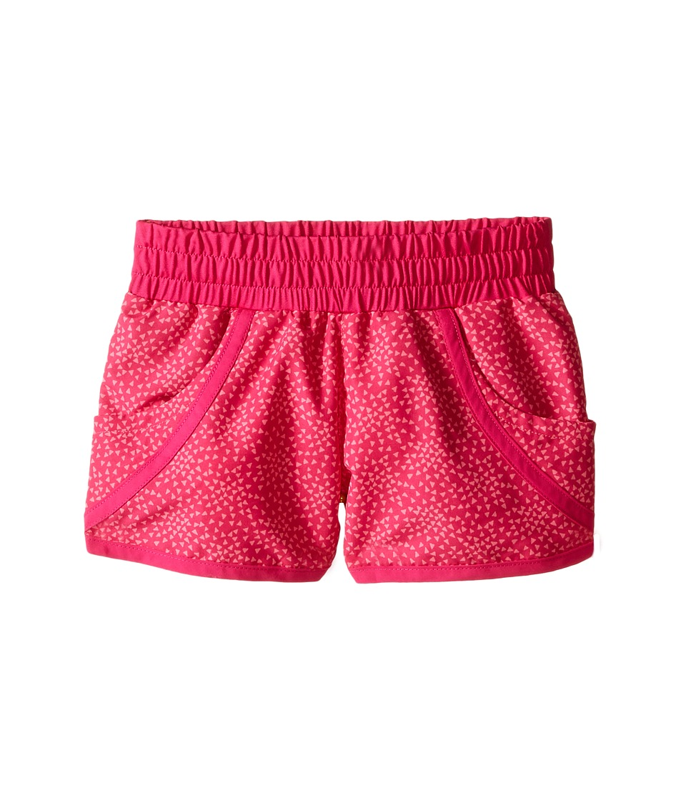 Columbia Kids - Solar Stream II Boardshort (Little Kids/Big Kids) (Haute Pink Triangle Print) Girl's Swimwear