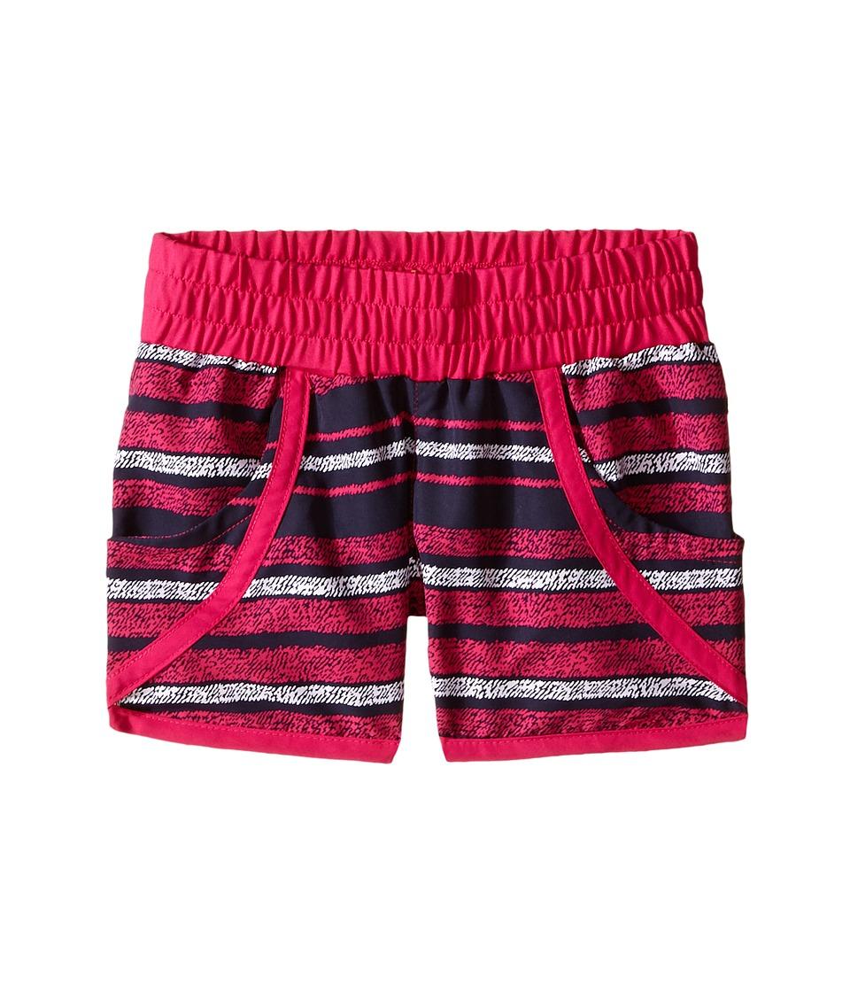 Columbia Kids - Solar Stream II Boardshort (Little Kids/Big Kids) (Haute Pink Stripe) Girl's Swimwear