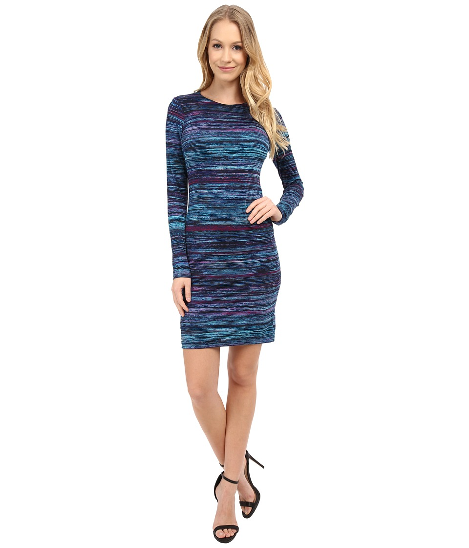 Karen Kane - Celestial Stripe Sheath Dress (Print) Women's Dress