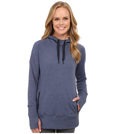 Oakley - Revive Pullover Fleece Hoodie (Blue Indigo) Women