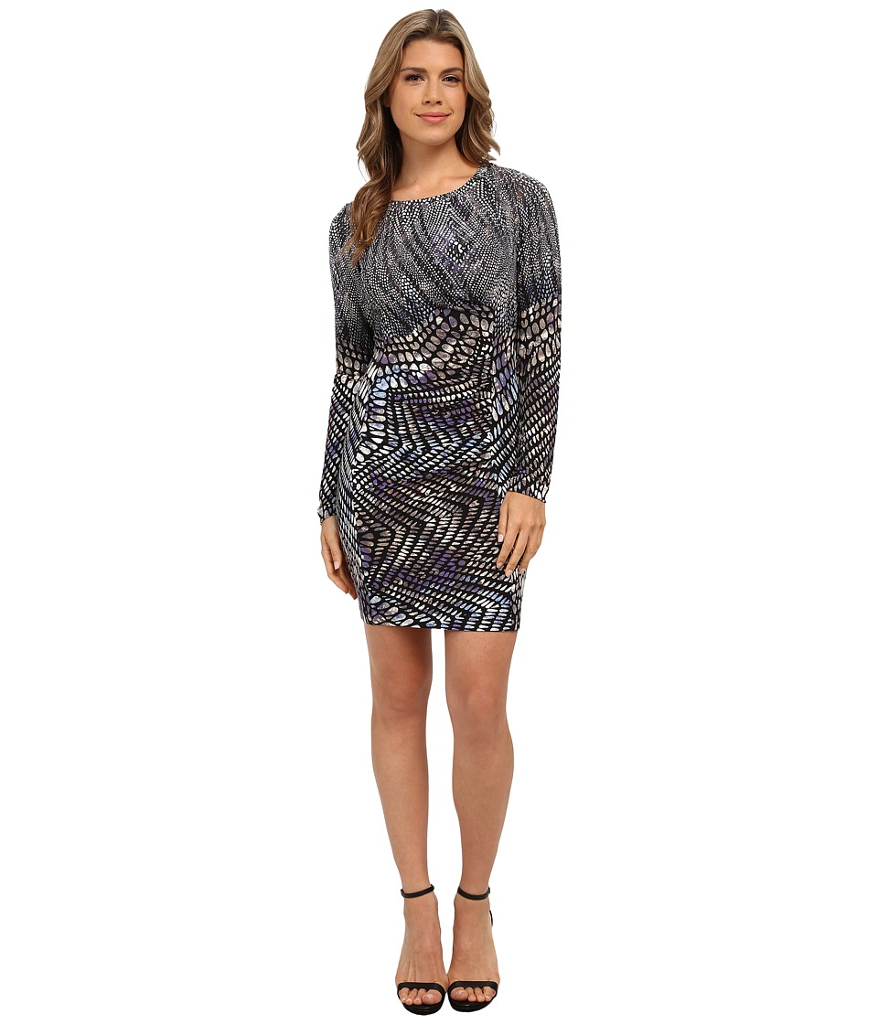 Tart - Whitney Dress (Watercolor Snake Print) Women's Dress