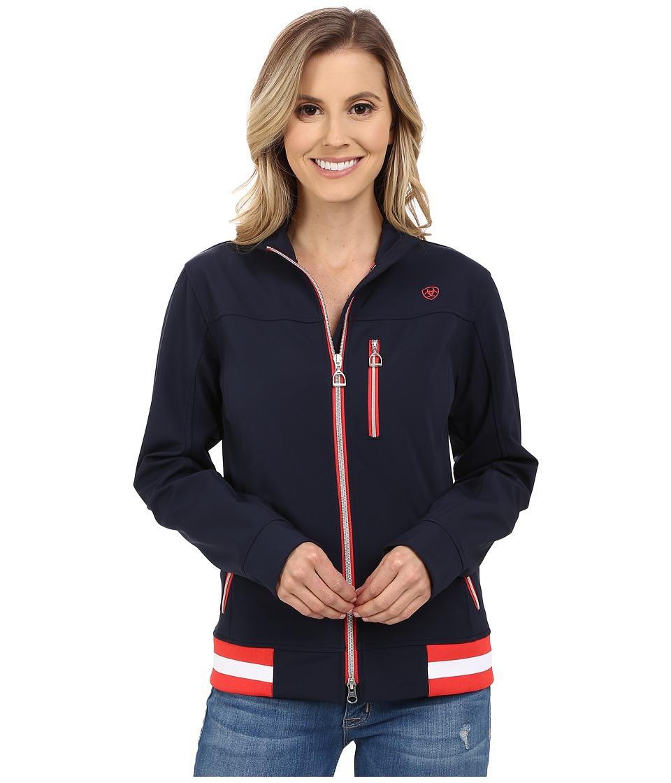 Ariat - Egan Jacket (Navy) Women's Coat