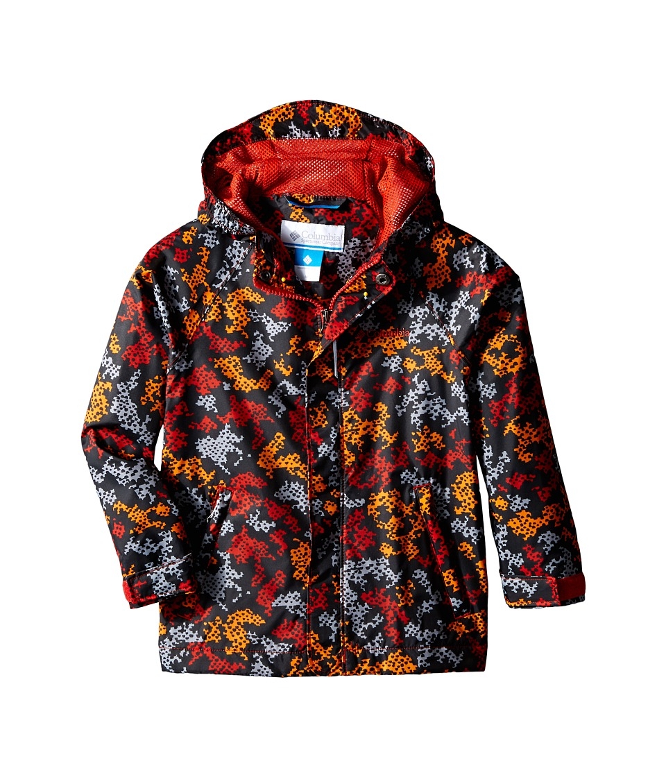 Columbia Kids - Fast Curious Rain Jacket (Toddler) (Super Sonic Camo) Boy's Coat