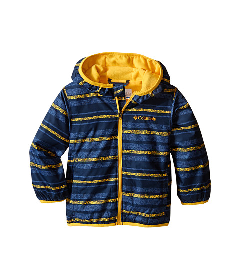 Columbia Kids - Mini Pixel Grabber II Wind Jacket (Infant/Toddler) (Stinger Stripe) Boy