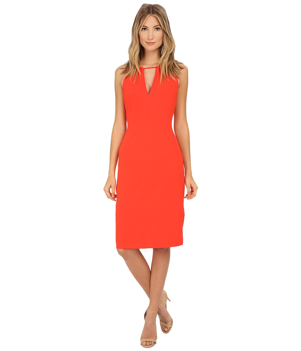 BB Dakota - Laine Heavy Crepe Strappy Dress (Blaze) Women's Dress