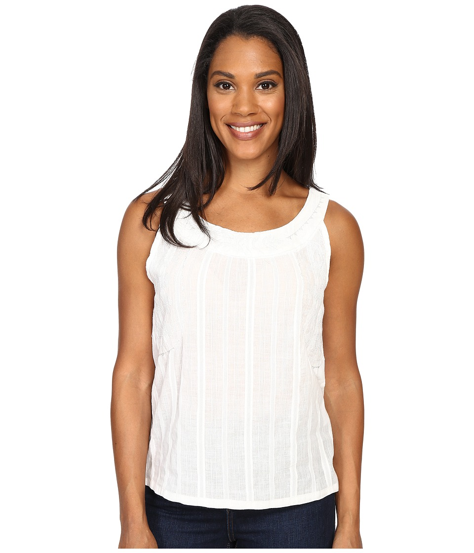 Carve Designs - Harbour Tank Top (White Sand) Women's Sleeveless